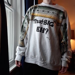 Vintage Big Fish Sweatshirt